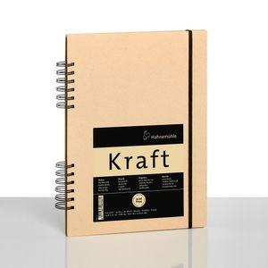 Kraft-Sketchbook-A5-Hahnemuhle-120-g-m²