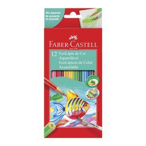 12-Ecolapis-de-Cor-Faber-Castell-Aquarelavel