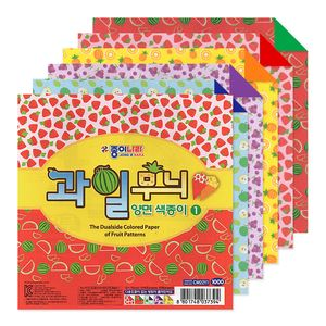 Papel-de-Origami-Jong-Ie-Nara-The-Dualside-Colored-Paper-of-Fruit-Patterns-15x15cm-1000-1