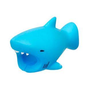 Protetor-de-Cabo-para-Iphone-Decorativo---Tubarao-Azul